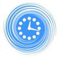 Time Spinning Clock