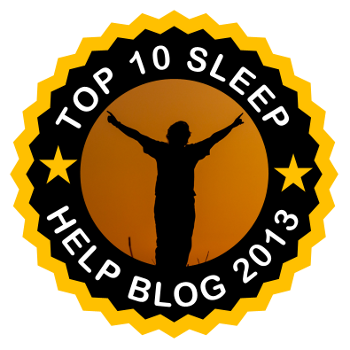 Top 10 Sleep Help Blog 2013 - 1