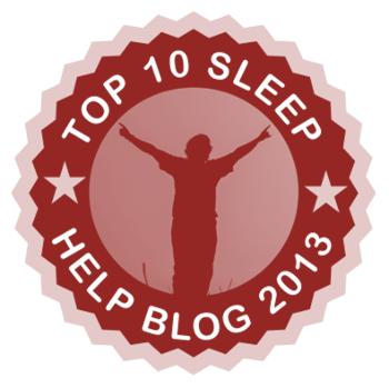 Top 10 Sleep Help Blog 2013 - 4