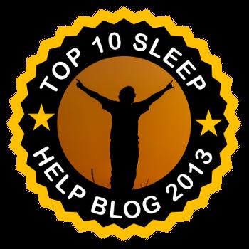 Top 10 Sleep Help Blog 2013 - 1