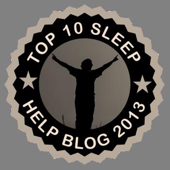 Top 10 Sleep Help Blog 2013 - 2